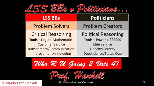 LSS BBs v Politicians